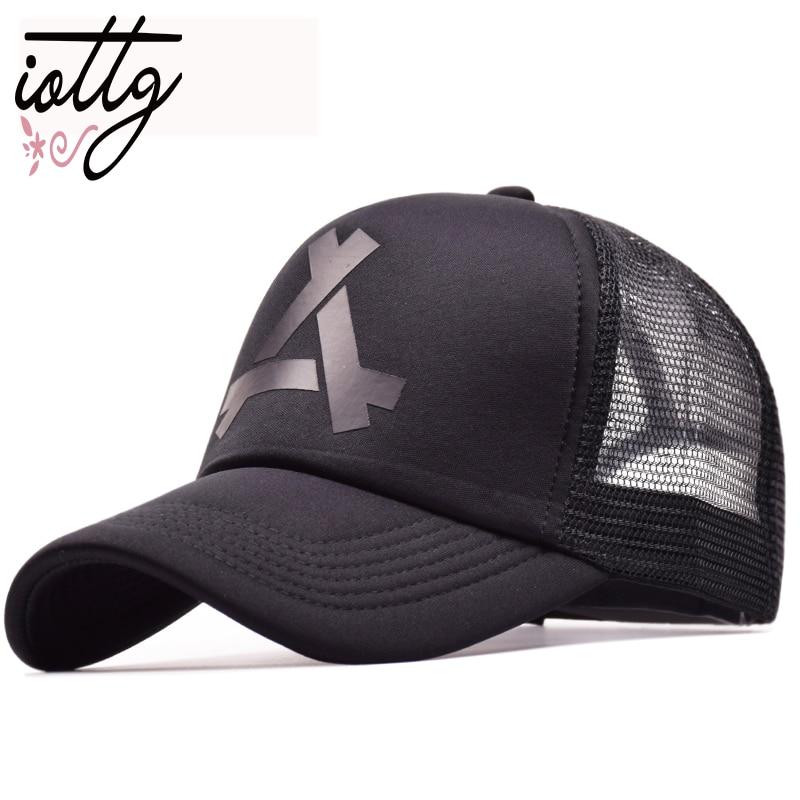 New Summer Mesh   Baseball     Cap   Sports Fashion Snapback Hats Trucker Adjustable Hip Hop   Cap   God Pray Women Men   Caps   Hat