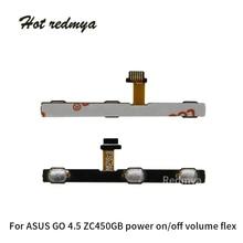 Power on off Volume Key Button Switch Flex Cable For ASUS Zenfone GO 4.5 ZC451GB Zenfone 5.0 ZC500TG Switch Side Ribbon Parts все цены