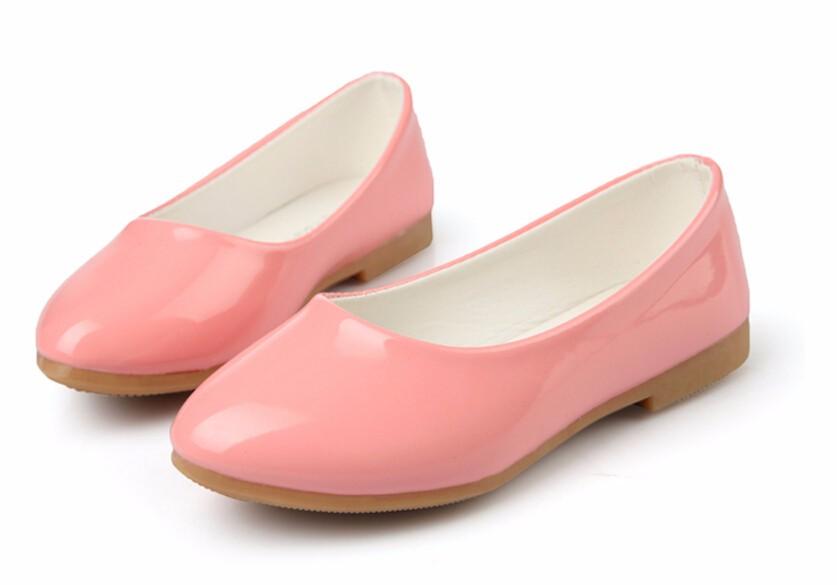 girl leather shoe-46