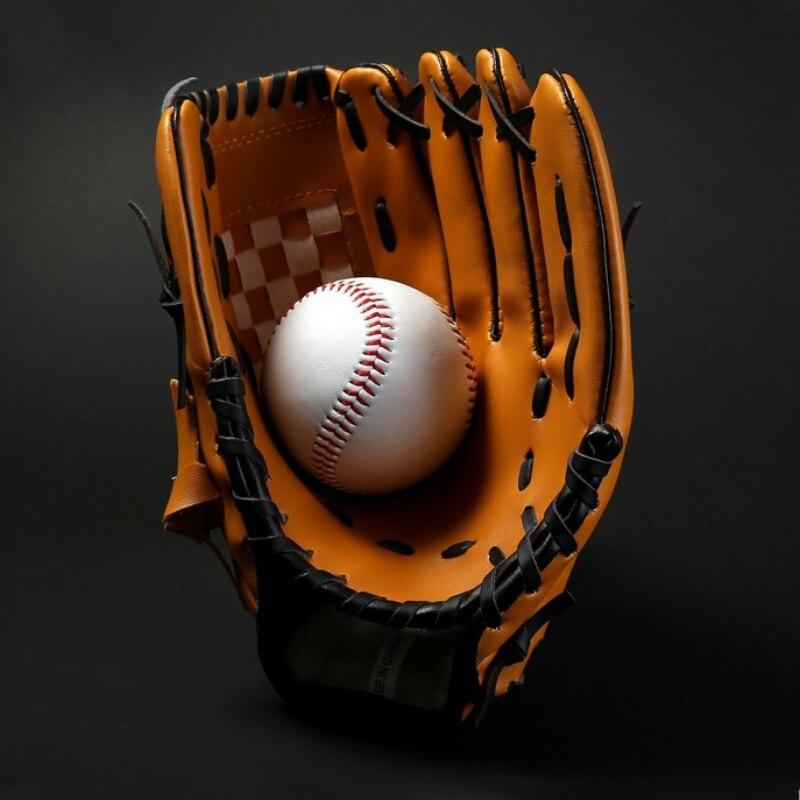 Sport Zubehör Süß GehäRtet Kind Juvenile Erwachsenen Vollen Baseball Infield Krug Baseball Handschuh Softball Pvc Verdickung Softball Baseball Handschuh Kunden Zuerst