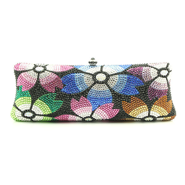 Beautiful Handmade Crystal Evening Bag Purse beautiful darkness