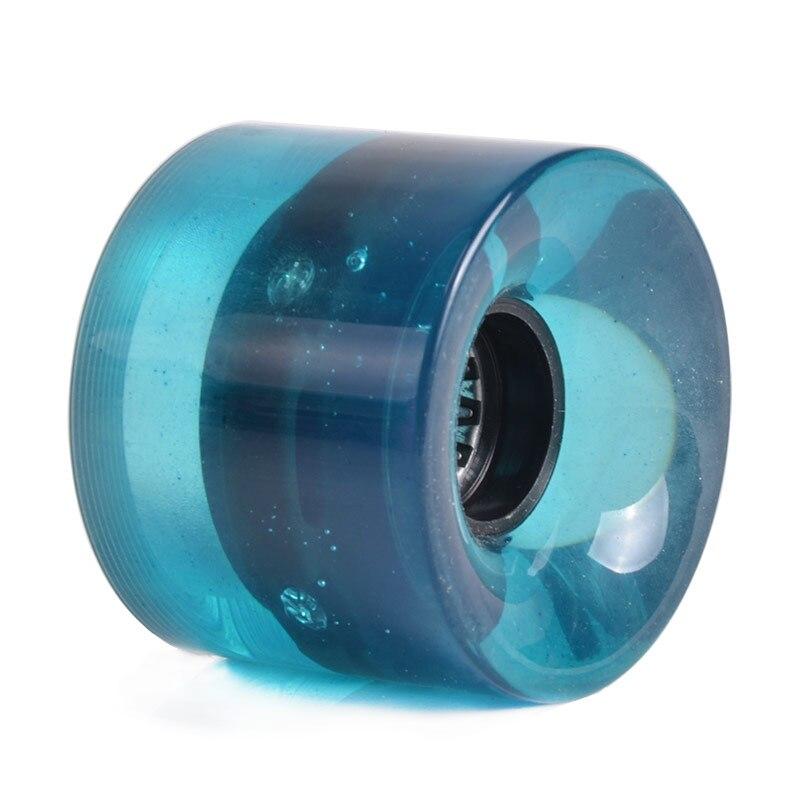 LED Flash Cruiser Skateboard Wheel For Street Skate Longboard Penny Banana Board