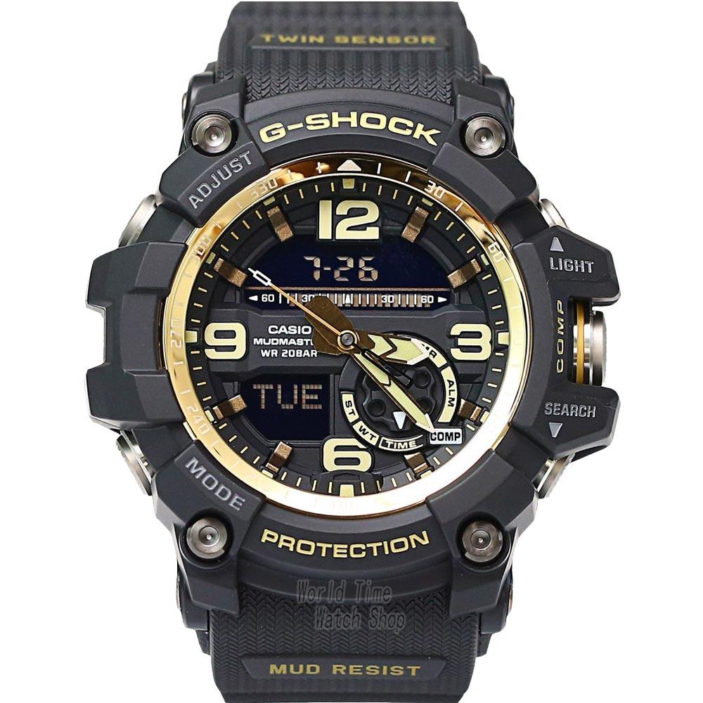 Casio watch Shockproof compass multi - functional sports male watch waterproof fashion watch GG-1000GB-1A  casio watch sweet fashion sports female student watch lx 500h 1b 1e 4e 7b2
