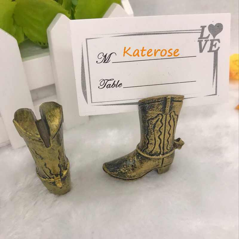 945ac237fe8f47 ... (12pcs/Lot)FREE SHIPPING+Bridal Shower Party Decoration Favors Cowboy  Boot Place