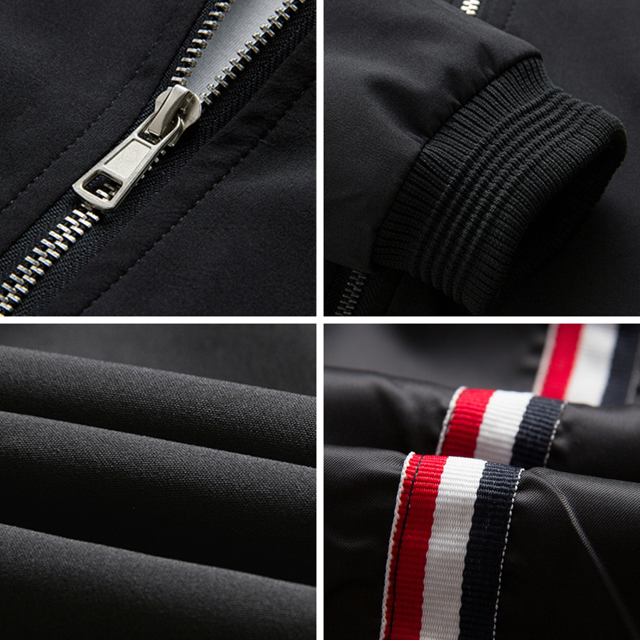 c1784f3612e URBANFIND Black / Blue / Red Men Fashion Spring Jacket Plus Size M 4XL 2017  New Arrival Man Casual Zipper Coat-in Jackets from Men's Clothing on ...