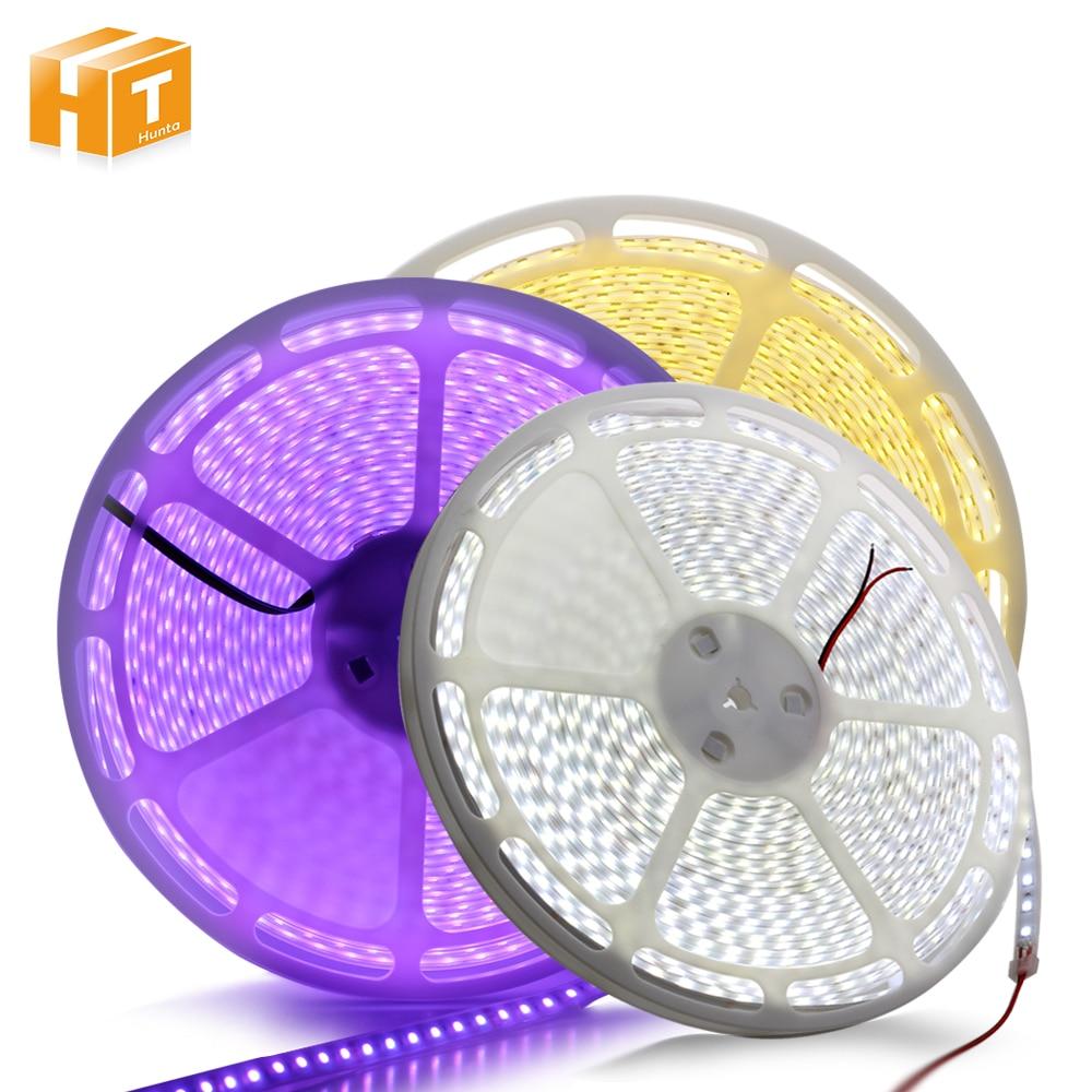 DC24V 20m/taśma LED Strip 5050 IP67 wodoodporna/nie wodoodporna 60 leds/m ciepły biały/biały/RGB oświetlenie zewnętrzne LED Strip