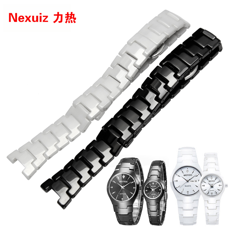 Prix pour 2016 nouveau wholsale bretelles, 14*7 MM 22*11 MM En Céramique montre bracelet bracelet hommes et femmes mode bracelets pour RD 6020 promotion