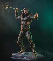 Vogue Aquaman Arthur Curry Orin with Trident of Neptune Justice League Statue DC Comic Super Hero 19cm Figure Figurine Toys