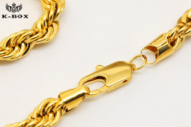24k gold rope chain value best chain 2018 14k gold rope chains sciox Gallery