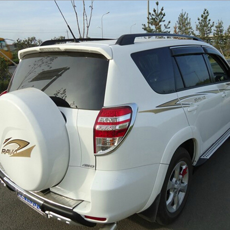 For <font><b>Toyota</b></font> <font><b>RAV4</b></font> RAV 4 2006 2007 2008 2009 <font><b>2010</b></font> Aluminium Alloy Black Roof Rack With Screws Roof Luggage Carriers Baggage Holder image