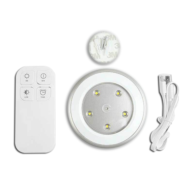Easy and convenient Wireless Remote Control Light 5 LED Bedside Lamp Decorative Night Lighting remote service discovery and control