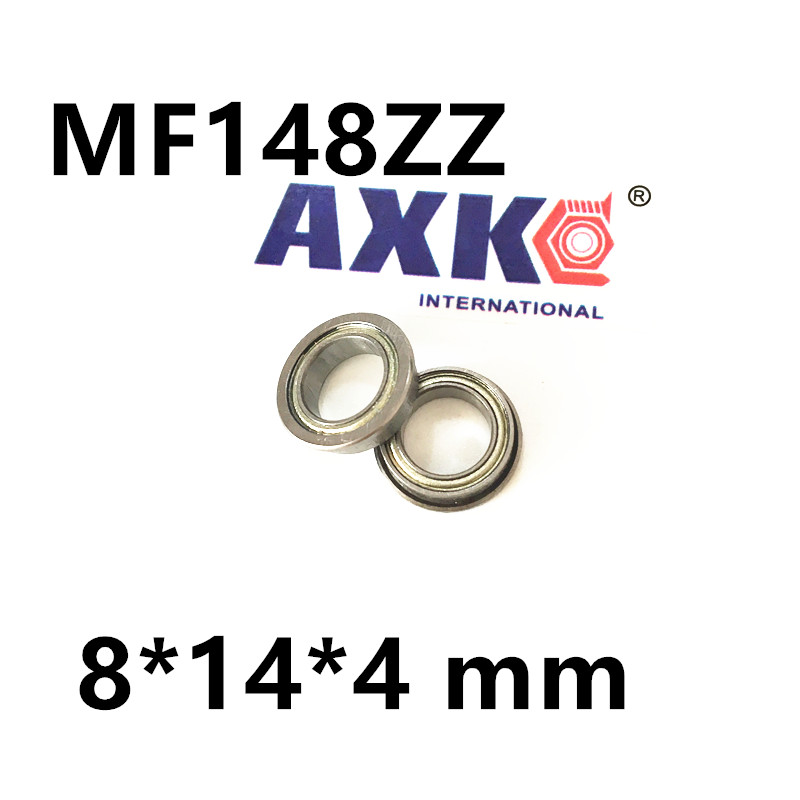 Free shipping  MF148ZZ LF1480ZZ deep groove ball bearing miniature bearing with flange ABEC3 MF148ZZ LF1480ZZ 8*14*4 mm free shipping 10pcs mr74zz l 740zz 674zz deep groove ball bearing 4x7x2 5 mm miniature bearing abec3 mr74 zz