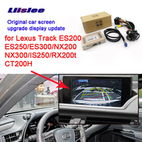 LiisLee Rear Backup Camera Interface Kit For Porsche MACAN for Cayenne PANAMERA 2017 RMC NavPlus NBT system