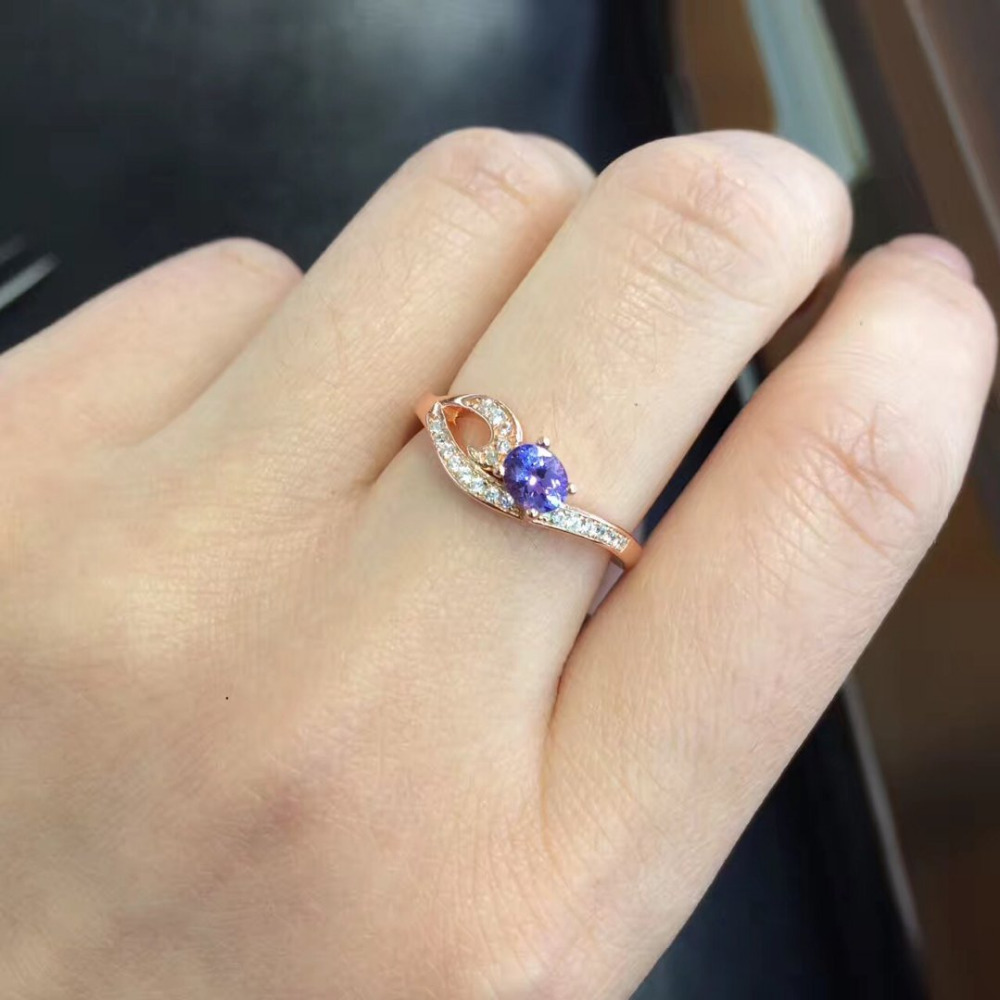 2017 New Jewelry Qi Xuan_Fashion Jewelry_Blue Stone Elegant Rings_Rose Gold Color Woman Blue Stone Rings_Factory Directly Sales2017 New Jewelry Qi Xuan_Fashion Jewelry_Blue Stone Elegant Rings_Rose Gold Color Woman Blue Stone Rings_Factory Directly Sales