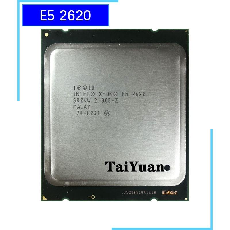 Original Intel Xeon E5 2620 2 00GHz 6 Cores 15MB DDR3