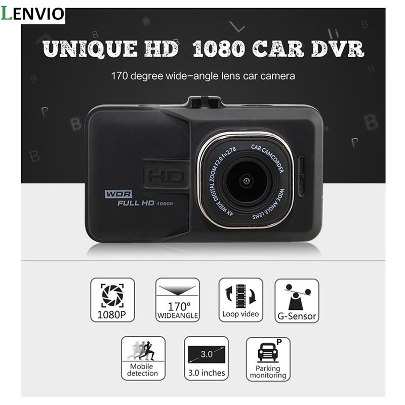 High resolution 170 degree Car DVR Camera  Universal DVR Dash Camera Full HD 1080P camera 3.0 inch dual lens front and recording