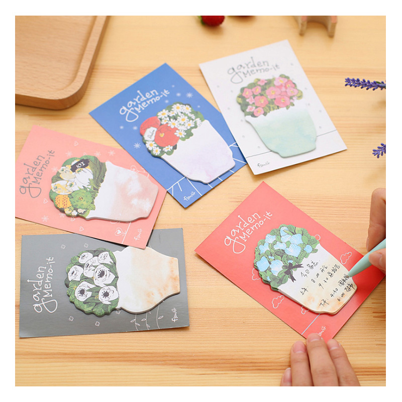 10pcs Office Becor Boknot Post It Nota  Papel Adesivo Papeterie Kawaii   Notas  Sticky Notes Bloc De Notas Memo Pads Agende