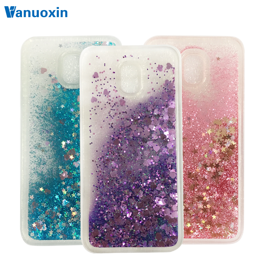 Vanuoxin Soft Liquid Case For Samsung Galaxy J5 2017 Case For Fundas Samsung J5 2017 J530 Case cover Glitter phone cases Coque(China)