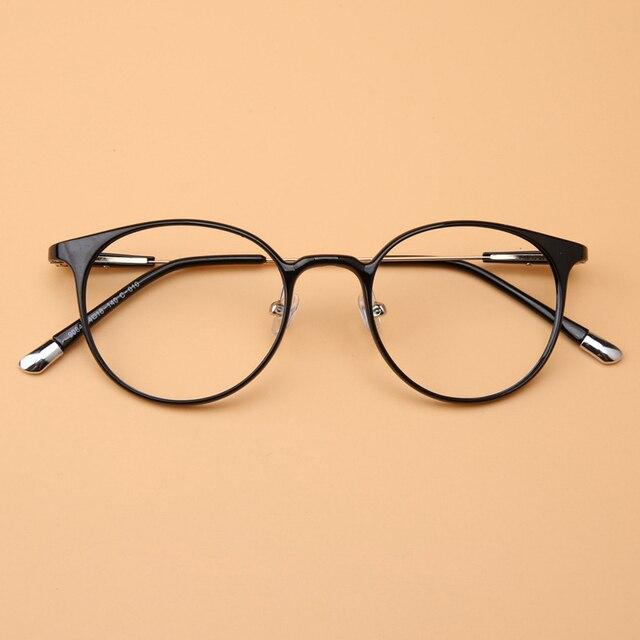 Новинка ретро оптических стекол миопия кадр регулируемая носоупоры ультратонкий ноги рецепт очки кадров