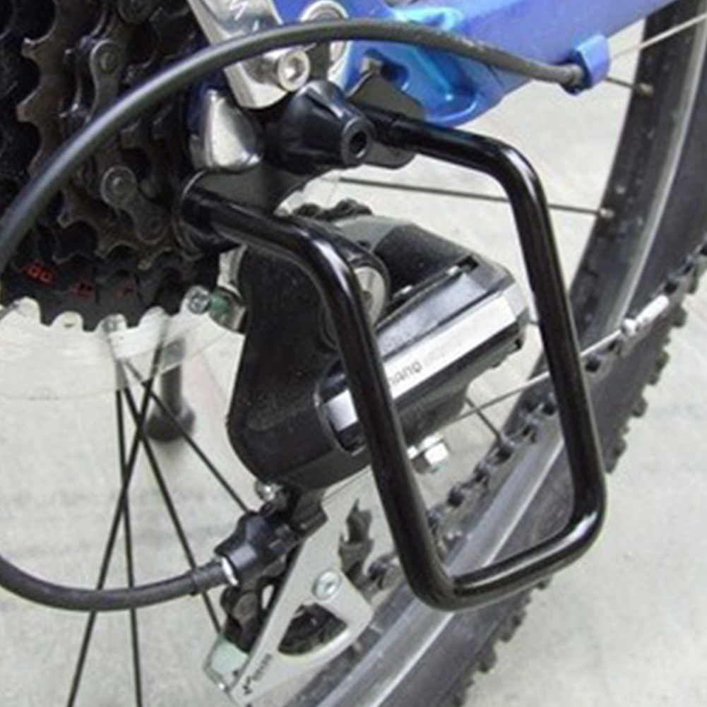 Cycling Bicycle Rear Derailleur Chain Stay Guard Gear Aluminum Protector AB Best