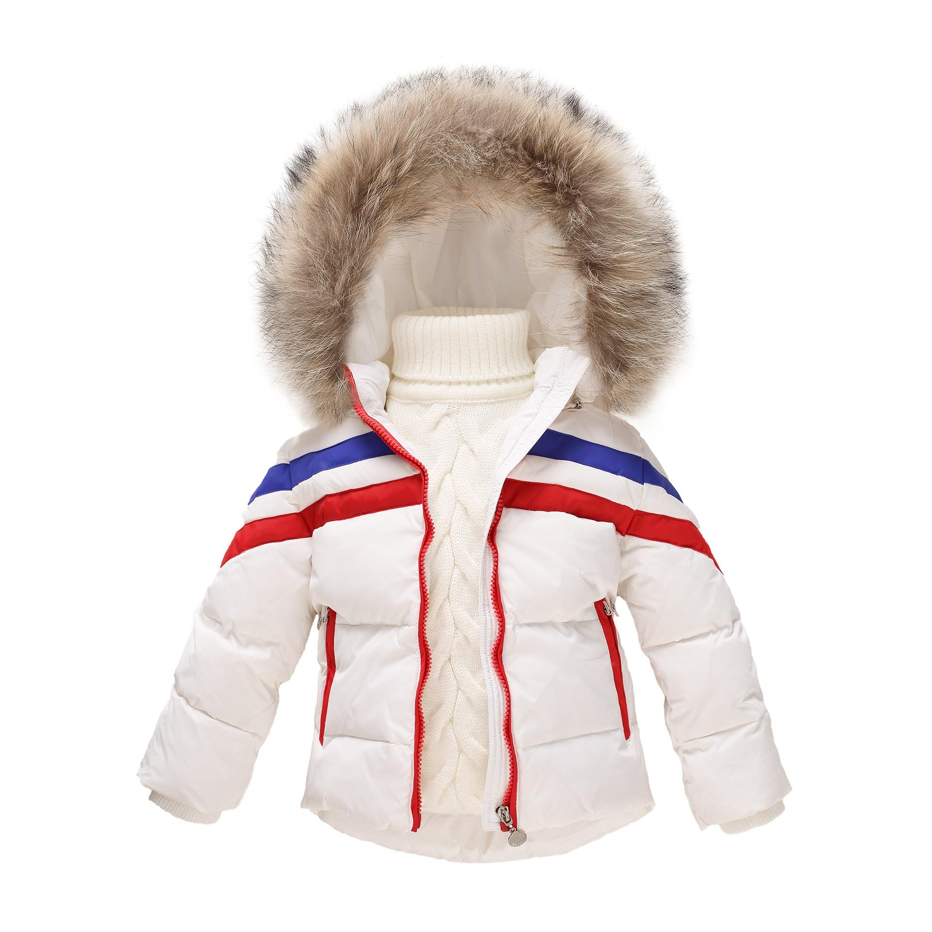 Fashion 2017 Children clothing down Jacket Girls Winter Coat unisex kids wear warm girls parka 2-8 yearls old boys clothing цена 2017