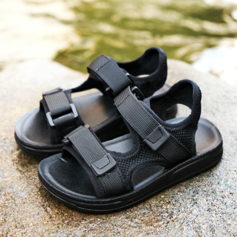 Summer Boys Children Sandals Comfortable Breathable Soft Non-slip Colorful Good Quality Out Door Caterpillar Casual Beach Shoes