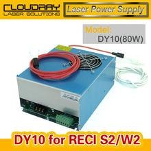 DY10 fuente de Alimentación Para el tubo RECI Láser Co2 W2/Z2/S2 Co2 Tubo Láser Máquina de Grabado/Corte