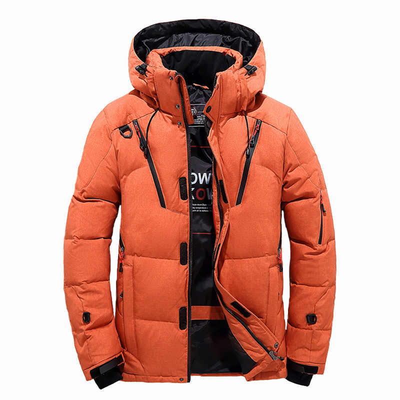 81ebf08e3 Detail Feedback Questions about 2019 Down Jacket Men Thicken Hoodies ...