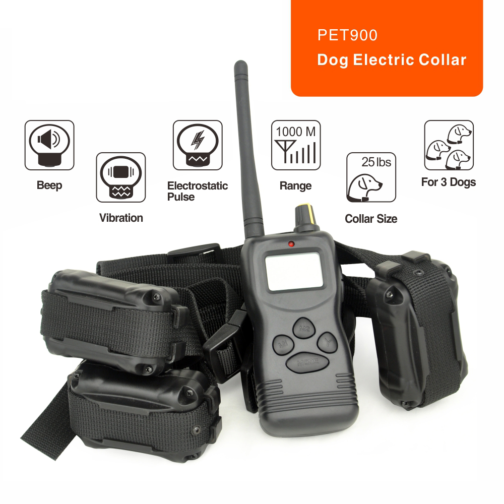electric training dog anti bark remote collar vibrator no barking shock collar pet trainer electronic dog dog care training collar