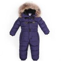 -30度の冬子供ジャンプスーツ