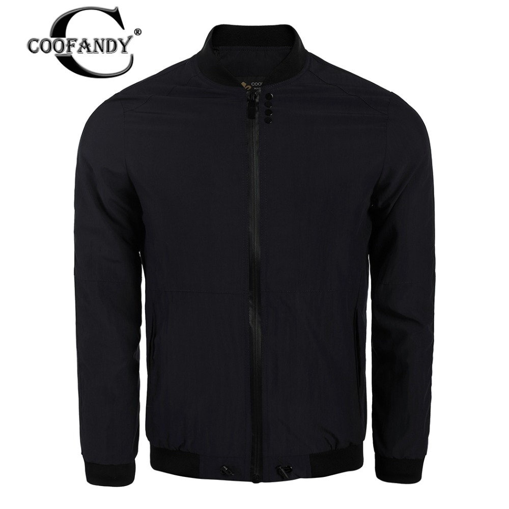 Coofandy куртка мужская брендовая одежда мужской моды Бомбер мужской куртка наивысшего к ...