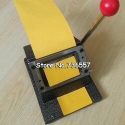 86*54mm Round Corner All Metal PVC Card Die Cutter,Manual PVC Business Card Cutter
