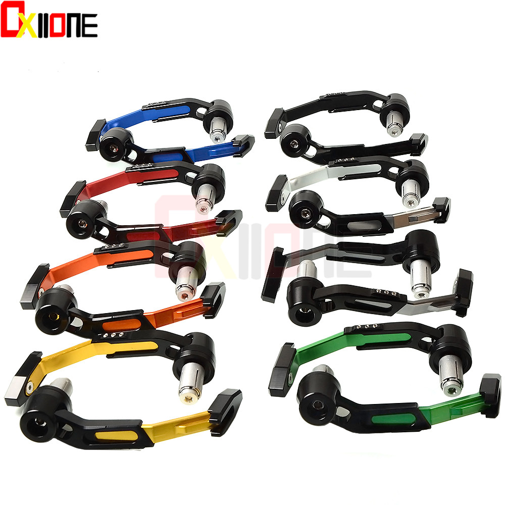 Motorcycle <font><b>Brake</b></font> Clutch <font><b>Lever</b></font> Hand Guards Scooter <font><b>For</b></font> <font><b>Bajaj</b></font> <font><b>Pulsar</b></font> <font><b>200</b></font> <font><b>NS</b></font>/<font><b>200</b></font> RS/<font><b>200</b></font> AS Kawasaki ZX-6 ZZR600 ZXR400 Z750S ER-5 image