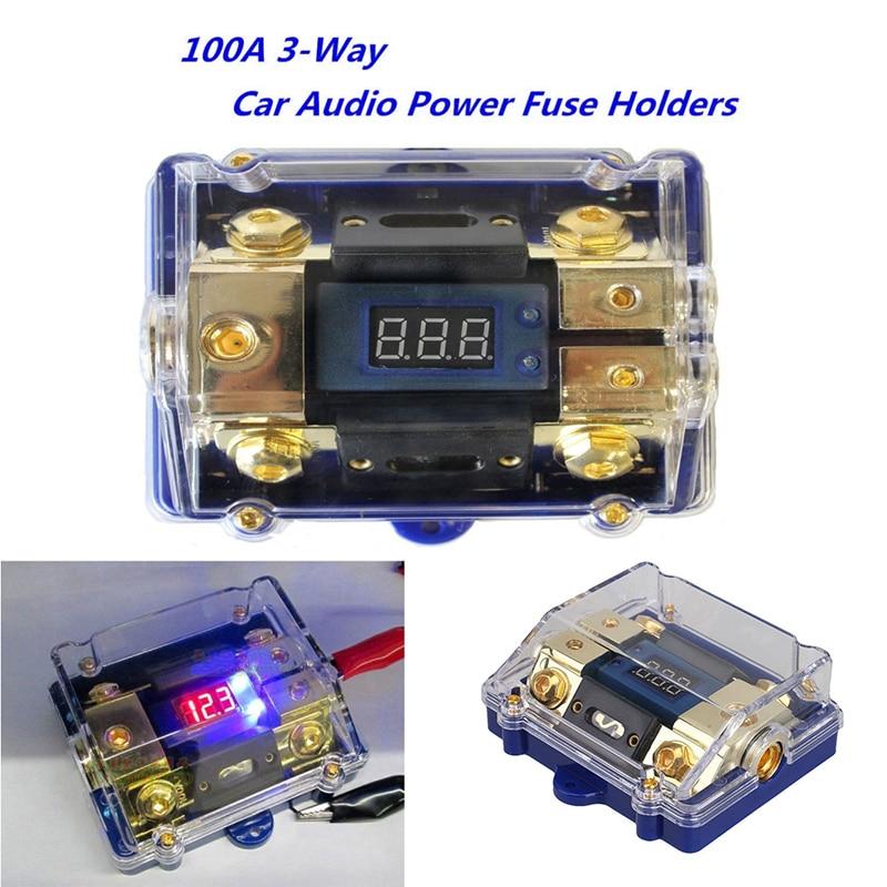 consumer electronics high end digital agu fuse holder & voltage ground block  car amp install 2 4 8 ga vehicle electronics & gps  www.easywallbox.eu