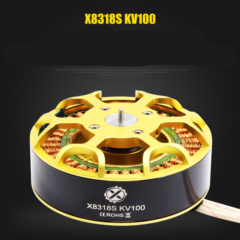1PC W9235(X8318S) Brushless Motor KV100 KV120 Disco Motors Engine for RC Plant Agriculture UAV Drone Multirotor