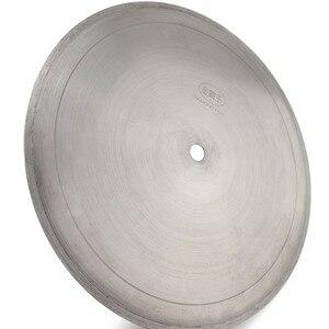 "Image 2 - 20 ""인치 500 mm 소결 다이아몬드 보석 톱 블레이드 원형 블레이드 커팅 스톤 도구 Arbor 1"" 1 1/4 for Gemstone Agate Rock"