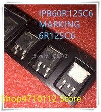 NEW 10PCS/LOT 6R125C6 IPB60R125C6 TO-263  IC