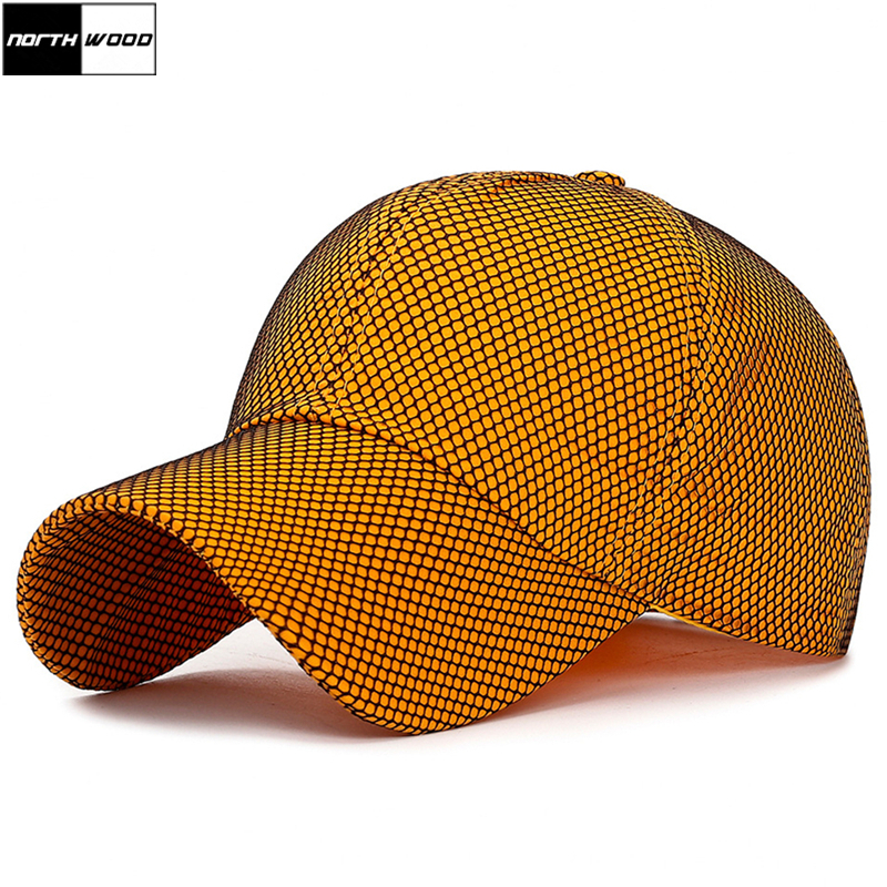 [NORTHWOOD] Fashion Colorful   Baseball     Cap   with Net for Men Women Summer Sun Hip Hop   Caps   Bone Gorras Streetwear Dad Hat