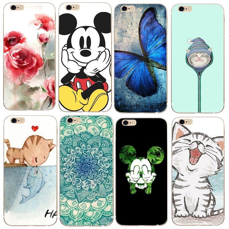 For fundas font b iPhone b font 6S case 5 5S SE 6 7 8 Cute