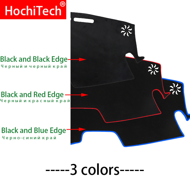 For HAVAL F7 2019 Right and Left Hand Drive Car Dashboard Covers Mat Shade Cushion Pad Carpets Accessories 5