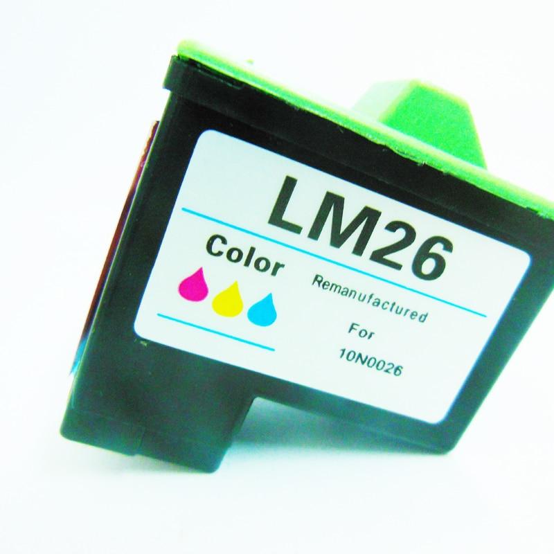 Pour Lexmark 26 10N0026 Cartouche D'encre pour Lexmark Z33 Z13 Z23 Z35 Z515 Z615 Z600 Z605 Z611 X1100 X1150 X1270 X1290 Imprimante