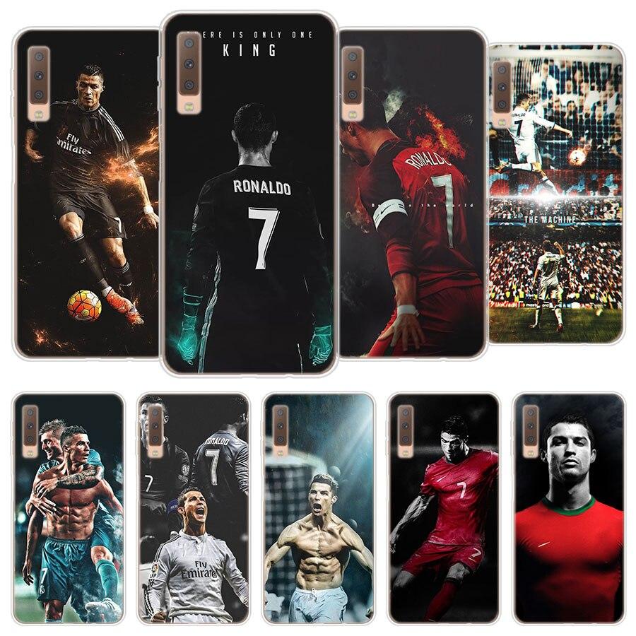 2019 Fashion Cr7 Cristiano Ronaldo Tpu Silicone Case Cover For Samsung Galaxy A3 A5 A6 A7 A8 2018 A9 A6 A8 Plus Soft Phone Case