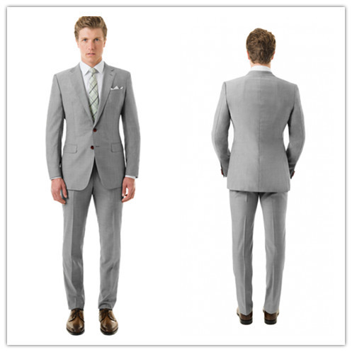 Popular Grey Suit Summer Wedding-Buy Cheap Grey Suit Summer