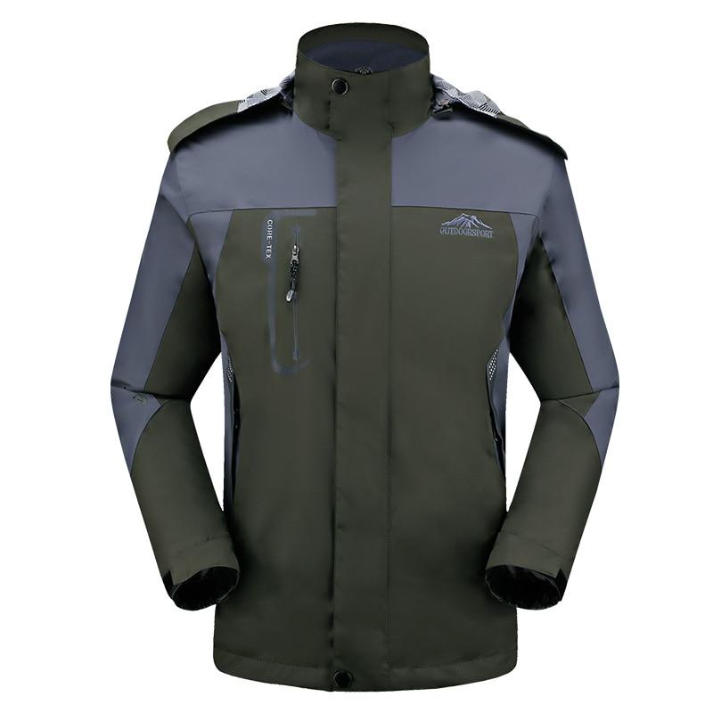 Spomladi jesen moški suknjič moški modni jakni plašč Windbreaker - Moška oblačila - Fotografija 1