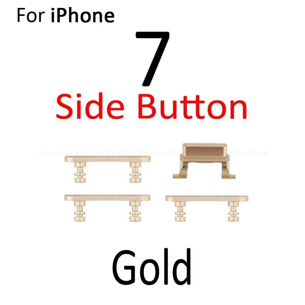 Высокое качество Боковая кнопка громкости вибрирующий переключатель блокировка мощности Боковая кнопка отключения звука полный набор для iPhone 7 7 Plus