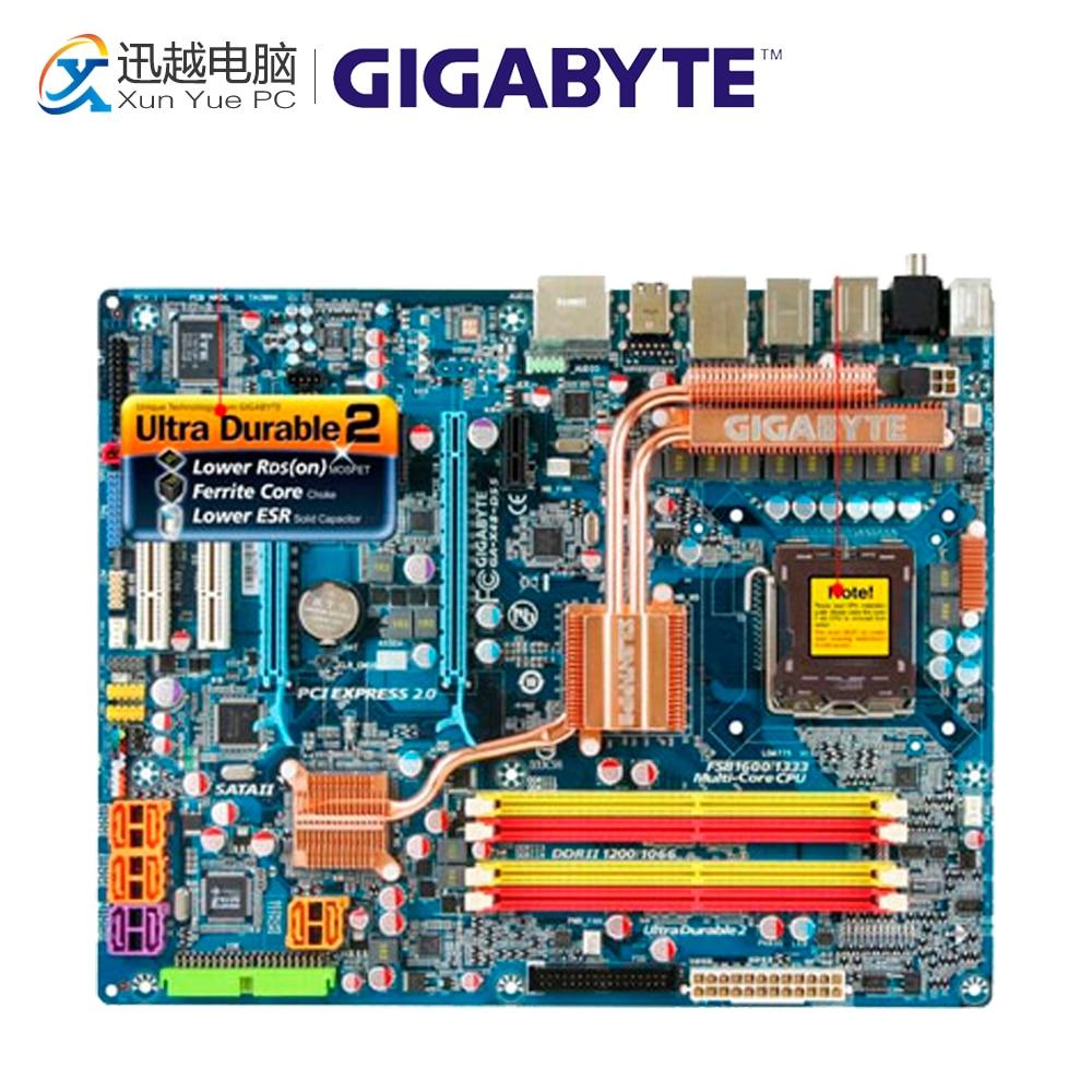 все цены на Gigabyte GA-X48-DS5 Desktop Motherboard X48-DS5 X48 LGA 775 DDR2 8G SATA2 ATX онлайн