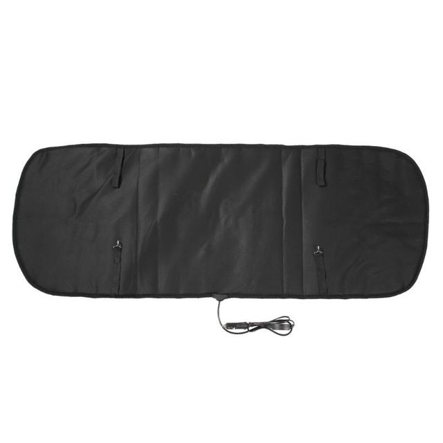 12V Heated Car Seat Cushion Cover Seat Winter Thermostat Heater Warmer Seatback Cardriver Auto Heating Heated Seat Cushion Pad