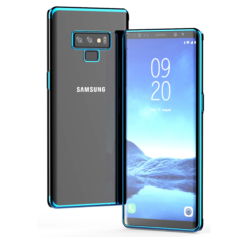 For Samsung Galaxy Note 9 Case S10 Plating Soft Clear TPU Back Cover For Samsung Note9 Note 9 Case Slim Silicon Coques Note9