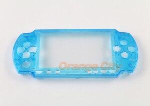 Image 4 - Hàng Đầu Trên Mặt Trước Mặt Vỏ Bao Da Ốp Lưng Thay Thế Cho Máy PSP 1000 1001 Mỡ Mặt Dành Cho PSP1000 Mỡ