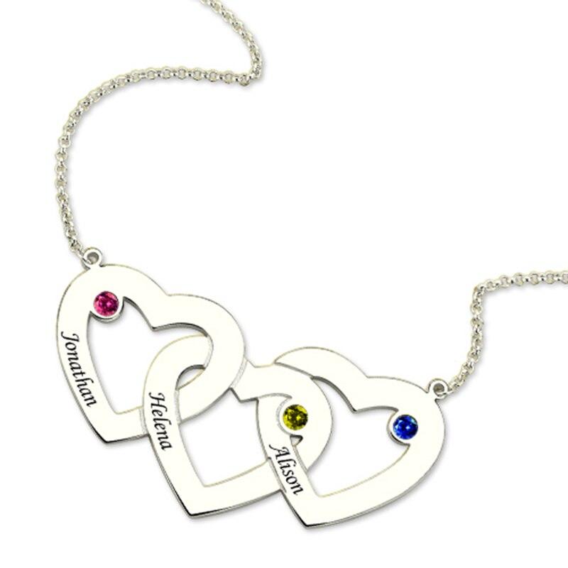 9ecb16bd7d24 Dos colores de acero inoxidable para hombre mujer pareja COLLAR COLGANTE  corazón CZ Puzzle juego
